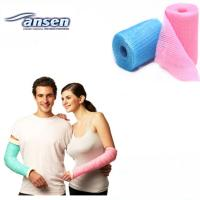 China Medical Synthetic Orthopedic Casting Tape, Colorful Polyester Fiberglass Casting Tape on sale