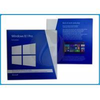 Wholesale original Microsoft Windows 8.1 Retail box/ OEM DVD 32bit/ 64-Bit System Builder OEM /FPP Key from china suppliers