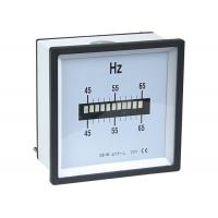 Wholesale Single Row Vibrating Reed Analogue Meter , Frequency Meter For Class 1.5 from china suppliers