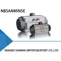 Wholesale AT Torque Pneumatic Valve Actuator , Spring Return Pneumatic Actuator from china suppliers
