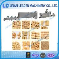 Wholesale Low consumption vegetarian soya meat snacks food making machine from china suppliers