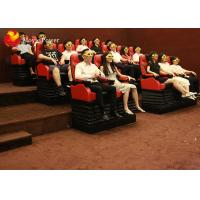 Wholesale 4D Movie Theater Thrill Rides Interesting Themes Movement Seats In Dubai Market from china suppliers