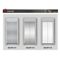 Wholesale Door Panel Stainless Steel Elevator Cabin Decoration Centre / Side Opening from china suppliers