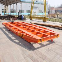 Wholesale Special designed trailing cable powered blasting transfer car with 5t load capacity from china suppliers