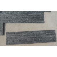 Wholesale Black Quartzite Waterfall Shape Ledgestone,Retaining Wall Panel,Quartzite Culture Stone from china suppliers