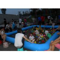 Wholesale PVC Tarpaulin Inflatable Family Pool Inflatable Beach Sand Pool from china suppliers