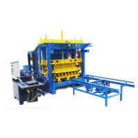 Wholesale 28.25KW QT6-15A Semi-automatic Baking-free Cement Brick Machine from china suppliers