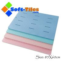 Wholesale Large shower mat bathroom EVA mat Anti-slip , water-proof 85*60cm from china suppliers