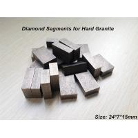 Wholesale Professional Diamond segments for Hard Granite in D1200mm Saw blades from china suppliers