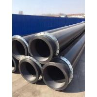Wholesale 100% PE material made PE pipe with stub ends for slurry,dredge project from china suppliers