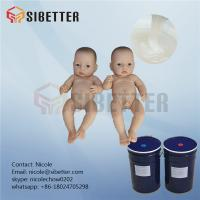 Buy cheap Medical Grade Lifecasting RTV Liquid Silicone Rubber for Rubber Baby Doll from wholesalers