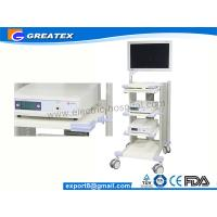 Quality Endoscope Trolley with Adjustable Stand / Medical Trolley Caster Wheel (GT-WT06) for sale