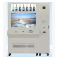 Wholesale Auto Credit Card Vending Machines , Drinks / Wine Vending Machine For Shopping Mall from china suppliers
