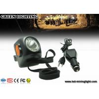 Wholesale 234g Black 8000lux LED Mining Light Digital Cordless Mining Safety Cap Lamps from china suppliers