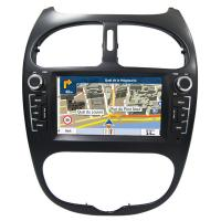 Wholesale Car Stereo Installation Kits Peugeot Navigation System , Peugeot 206 Android Car Radio With Bluetooth And Gps from china suppliers