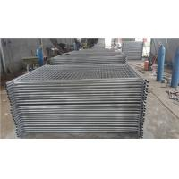 Wholesale 2.1*2.4m galvanized Temporary fence panels stay from china suppliers