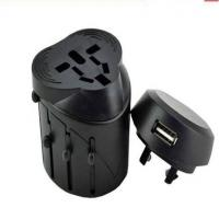 Wholesale Power Universal USB Travel Charger With Retractable Plug AU / UK / US / EU from china suppliers