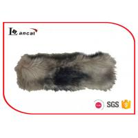 Wholesale Mink Faux Fur Neck Ladies Snood Scarves 7×28 cm With Elastic Band from china suppliers