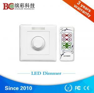 Quality zhuhai bincolor ir remote control dc 12volt 24volt 48volt 6A led dimmer switch for sale