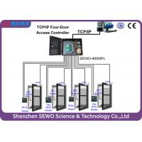 Wholesale TCP and IP 4 Door  Access Controller  Multi Door RFID Gate Access Control System from china suppliers