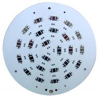 Wholesale 1-4Layers White Round Aluminum Base High Power LED PCBs with 8kv Withstand Voltage from china suppliers