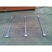 Quality Customized Industrial Pallet Racks Wire Mesh Decking / Wire Decks For Metal Shelving for sale