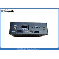 Wholesale Zero delay TDD COFDM transmitter Ethernet Transceiver UAV Wireless Video Link HDMI from china suppliers