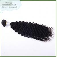 Wholesale nice looking 7A grade unprocessed virgin indian human afro kinky hair weaving from china suppliers