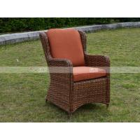 Wholesale CA1609 rattan deep seating with cushion poly rattan garden furniture from china suppliers
