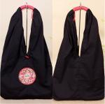 Factory OEM/ODM shoulder bags large size embroidered bag for ladies daily use canvas shoulder bag
