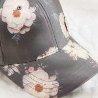 Wholesale Trade Assurance Snapback women high quality baseball caps european floral pattern sublimation baseball cap from china suppliers