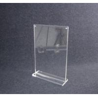 Wholesale COMER Clear Acrylic menu Stand Countertop menu display holder for mobile phone stores from china suppliers