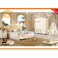 Buy cheap American style cheap Modular oriental wooden leather bedroom furniture at low price from wholesalers