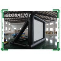 Wholesale Fire-resistant PVC Tarpaulin outdoor inflatable Projection Screen from china suppliers