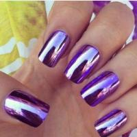 Buy cheap The Newest ! Hot Sale Nail Gel Polish Magic Metallic Mirror Chrome Pigment Powder for Nail paint from wholesalers