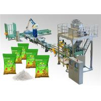 Quality PLC Control Automatic Bag Packing Machine for Washing Powder Open Mouth Bag for sale