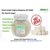 Buy cheap High Concentration Alpha Amylase Enzyme 240000 U / g from wholesalers
