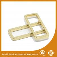 Quality Diameter 38X12.8X3.6MM Metal Ring Square Handbag Accessories Gold Color for sale