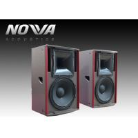 Wholesale 450 W Full Range Speakers 8ohm 127dB For Stage Events , Textured Black Paint from china suppliers