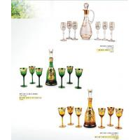 Wholesale hot stamping, painting High quality Logo Print  Wine Glass Sets / custom Stemless Set from china suppliers