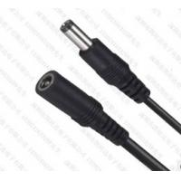 Wholesale Laptop DC Cable 12V DC Power Adapter Cord With 5.5*2.5MM Flat Black Red Wire from china suppliers