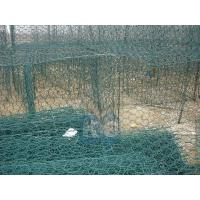 Wholesale PVC Coated Galvanized Gabion Woven By The Hexagonal Mesh Wire Mesh Gabion Basket from china suppliers