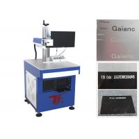 Buy cheap Fiber Laser Marking Machine / Metal Marking Machine For Integrated Circuits from wholesalers