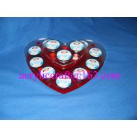 Wholesale Heart shape acrylic coffee capsule holder from china suppliers