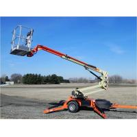 Wholesale 100 - 200kg Folding arm Electric Hydraulic Lifting Platform for articulated from china suppliers