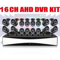 Wholesale Auto 16CH CCTV DVR Kit 720P Bullet AHD Cameras Motion Detection from china suppliers