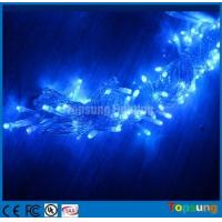 Wholesale Hot sale 220V blue100led Christmas flashing string lights 10m from china suppliers