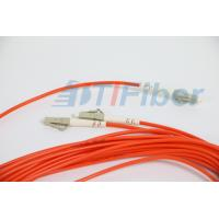 Wholesale FTTH LC / APC 1 X 2 splitter optical fiber With 3.0mm G657A Fiber Cable from china suppliers