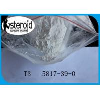 Wholesale CAS 5817-39-0 99% Liothyronine (T3) CAS 5817-39-0 for Weight Loss Steroids from china suppliers