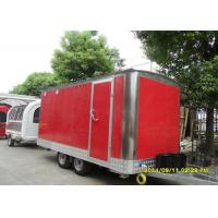 Wholesale Food Truck Hamburger Unusual Catering Vans Stainless Steel With Glass Window Canopy from china suppliers